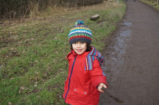 turning-us-into-a-frog-at-anglers-country-park